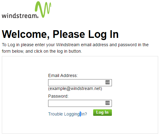 windstream mail login