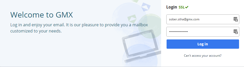 gmx mail login