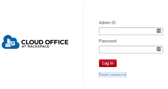 rackspace email login
