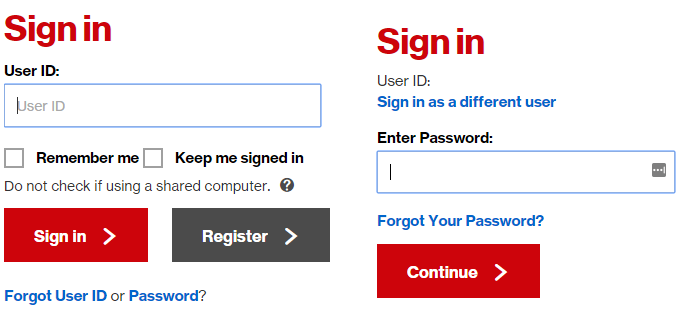 verizon email login