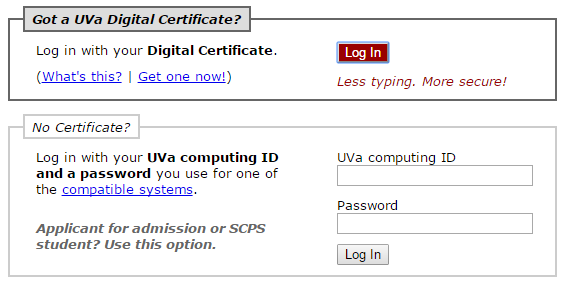 students uva email login