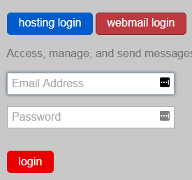 just host webmail login