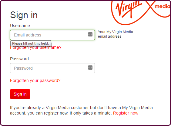 email addresses media Virgin