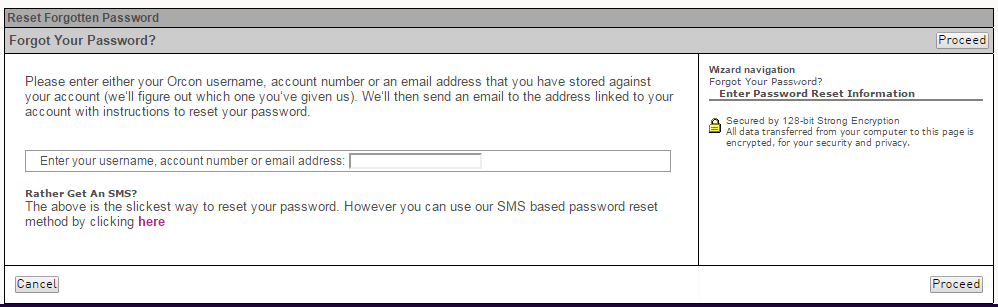 orcon webmail reset password