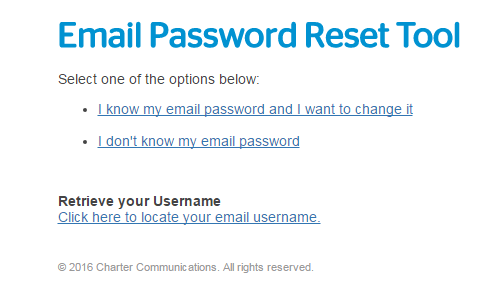 roadrunner email password reset