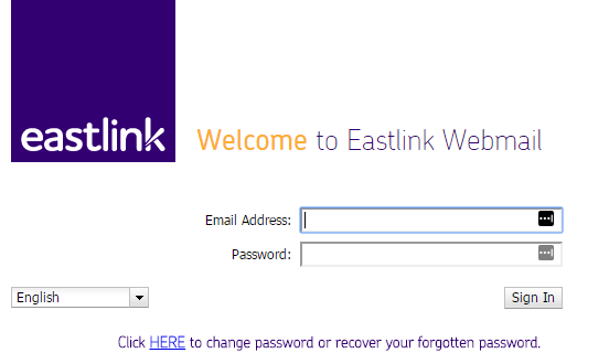 eastlink webmail login
