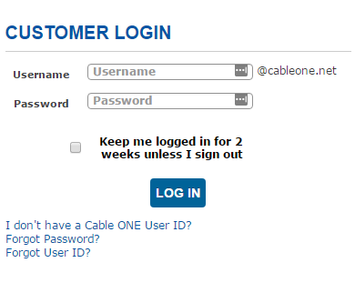 cable one mail login
